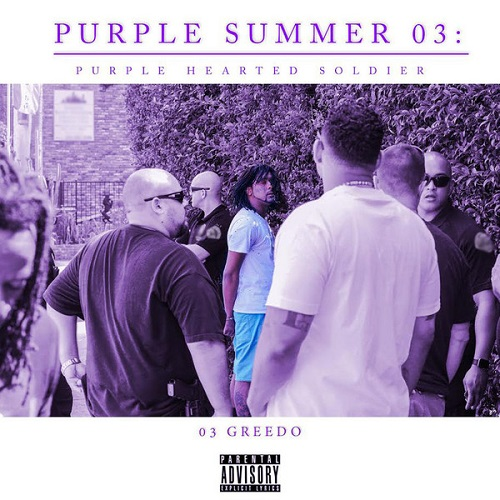 03 GREEDO - Purple Summer 03: Purple Hearted Soldier